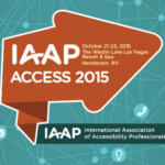 IAAP Access 2015 Conference Logo