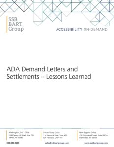 ADA Demand Letters Whitepaper Cover