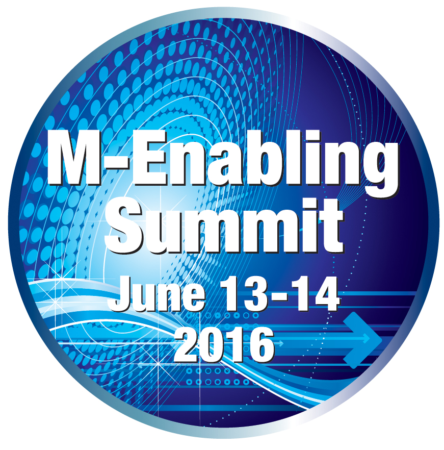 M-Enabling Summit June 13-14, 2016