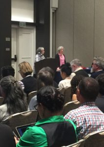 Lainey Feingold and Linda Dardarian speak at CSUN