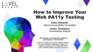 How to Improve Your A11y Testing For Beginners_Final Cover