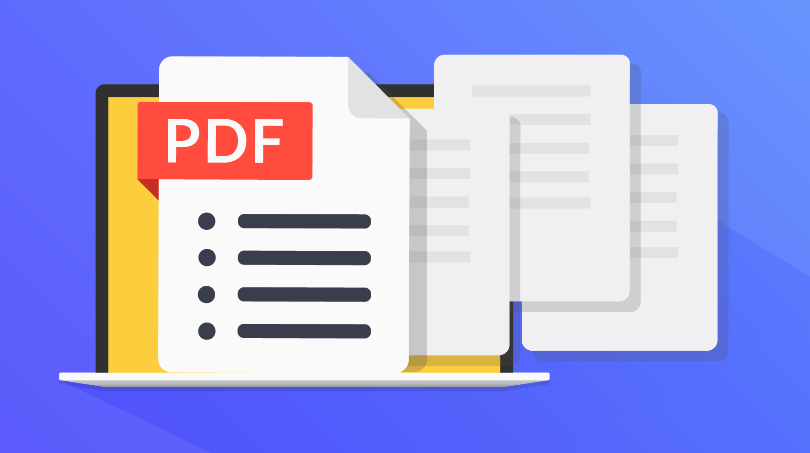A multi-page document labeled PDF