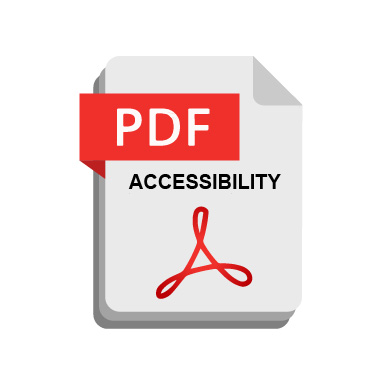 PDF icon with accessibility added