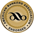 American Bankers Association Endorsed Seal