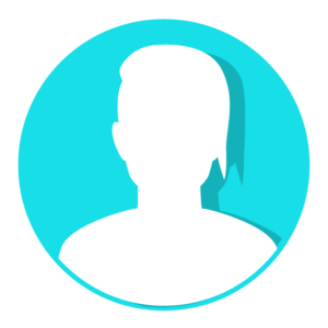 Teal person icon