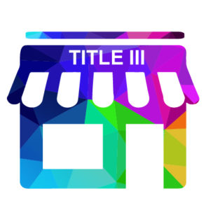 Icon of a storefront with Title III