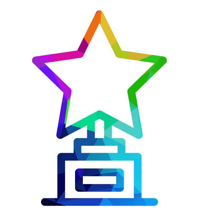 icon of star on top of award