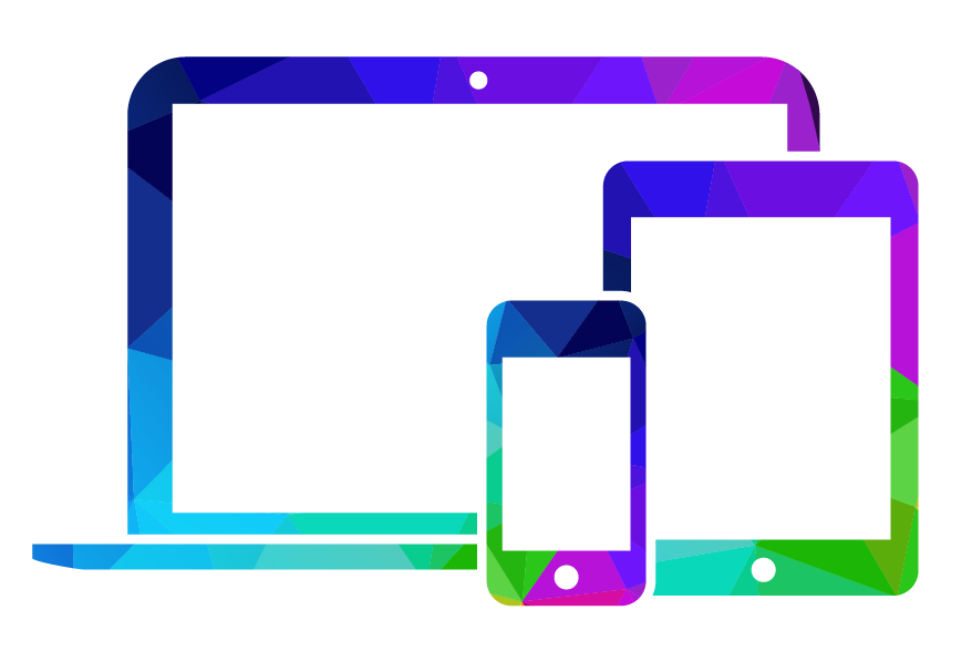 computer, tablet, and phone device icon