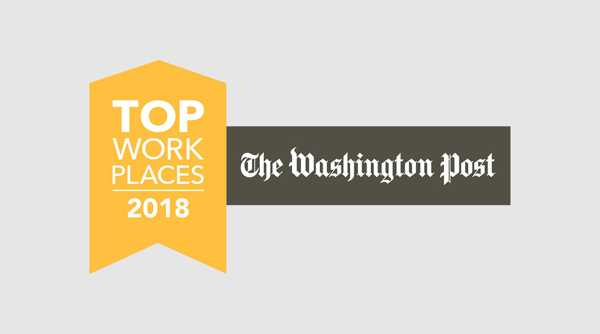 Top Work Places 2018 The Washington Post