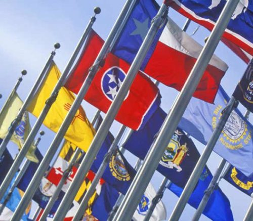local city and county flags