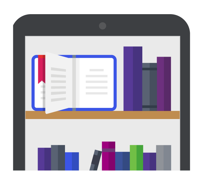 Library of books and resources