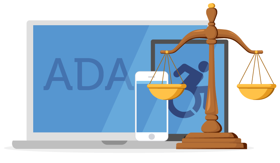 ADA compliance for web and mobile