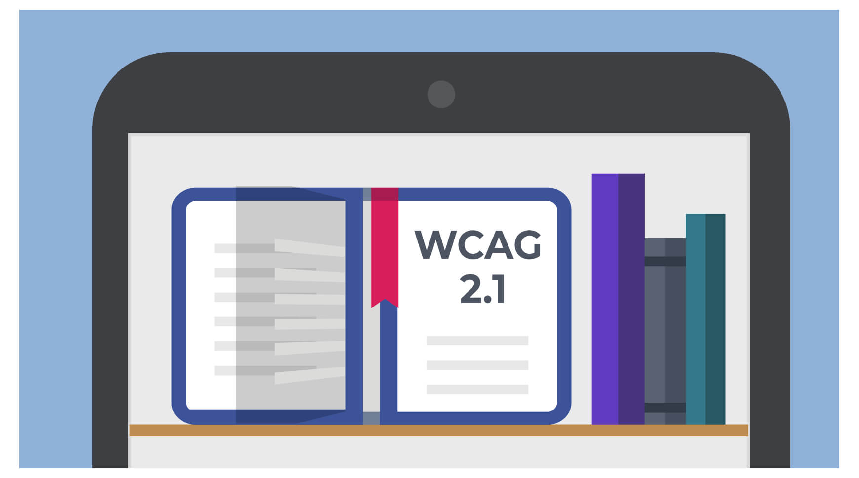 WCAG 2.1 on a mobile device