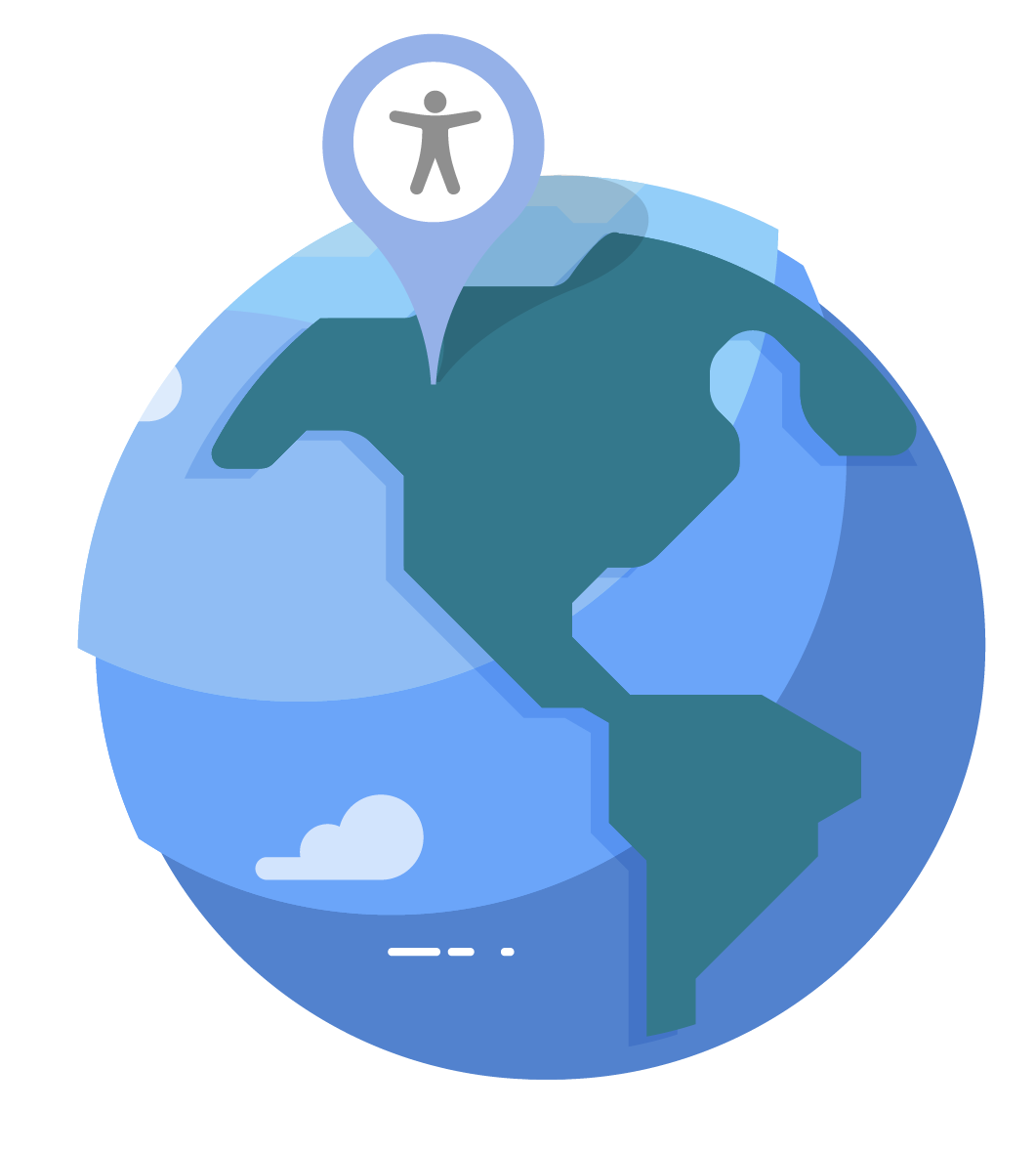 picture of the world globe