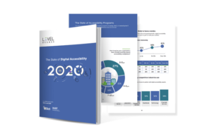 2020 State of Digital Accessibility Report