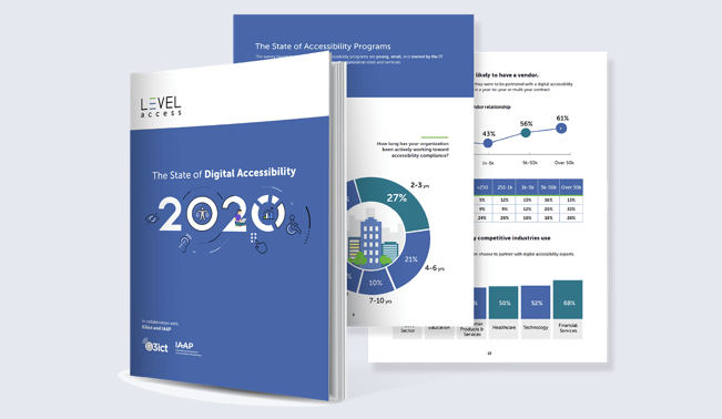 The 2020 State of Digital Accessibility Report