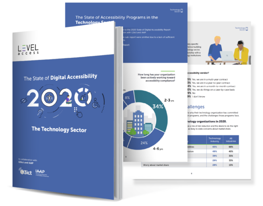 State of digital accessibility report- Technology