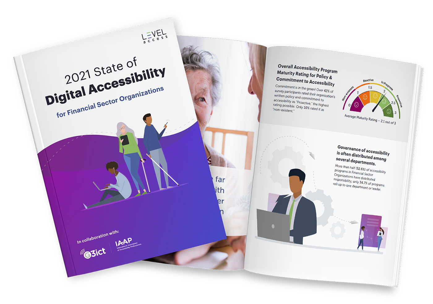 2021 State of Digital Accessibility for Financial Sector Organizations Report